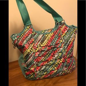 Large tote bag from thirty-one, pockets galore!!